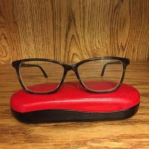 Green/gray/black Tortoise frame eye glasses